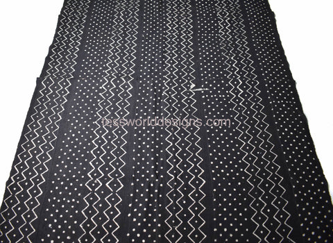 Authentic Mali mud cloth Fabric, MC204