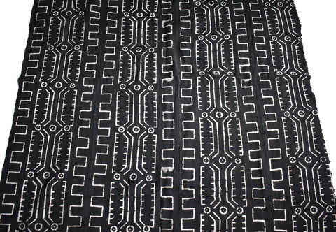 Authentic Mali mud cloth Fabric, Fema MC231