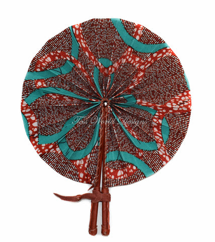 Ankara Fabric fan, Ami AC31