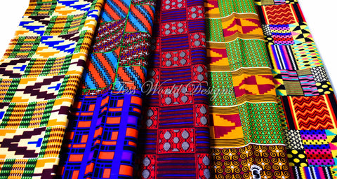 Kente Fat quarter bundle, Yawa WB155