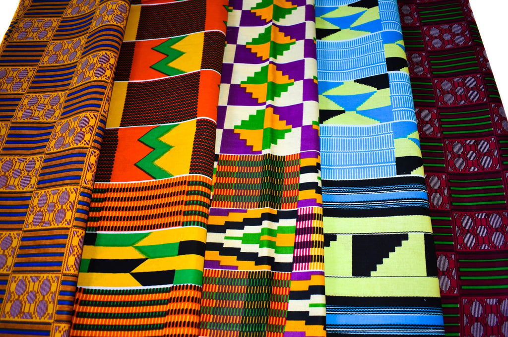 Kente Fat quarters bundle, queen KB160