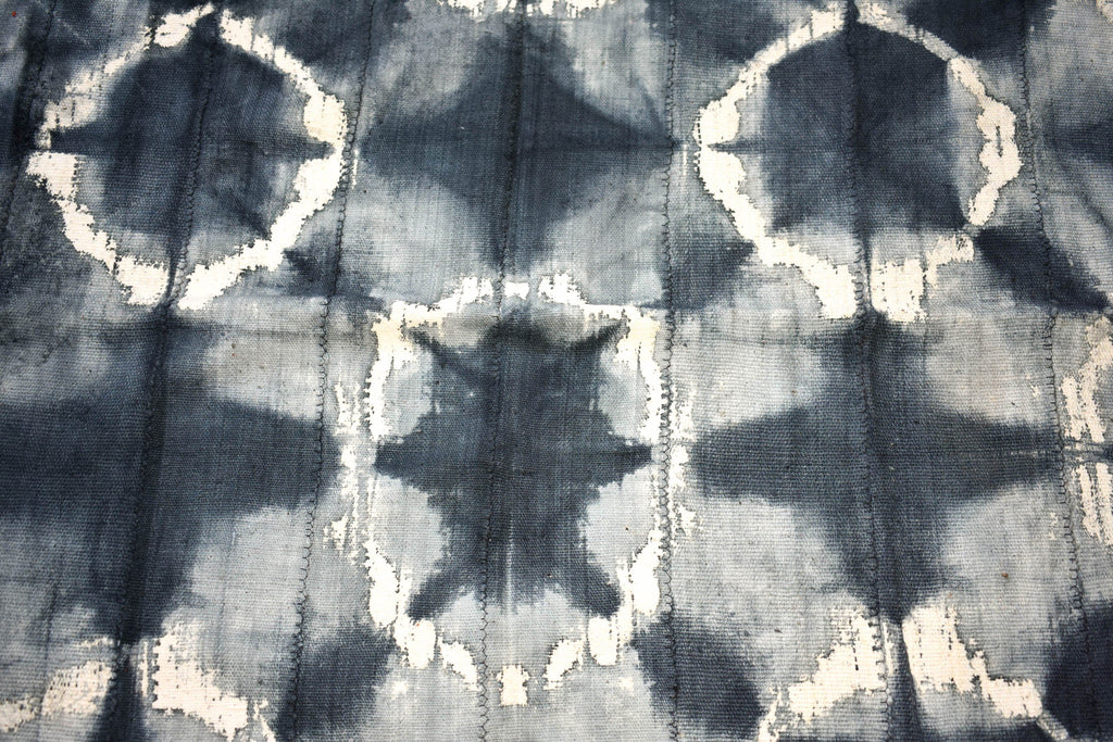 Handcrafted Mudcloth fabric from Mali, charcoal MC261
