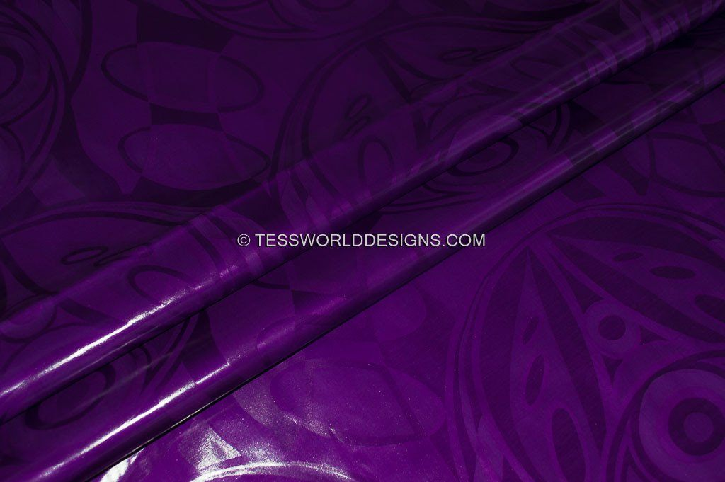 Bazin riche fabric/ fabric by the yard/ purple perfumed fabric/ African Fabric B163B - Tess World Designs, LLC