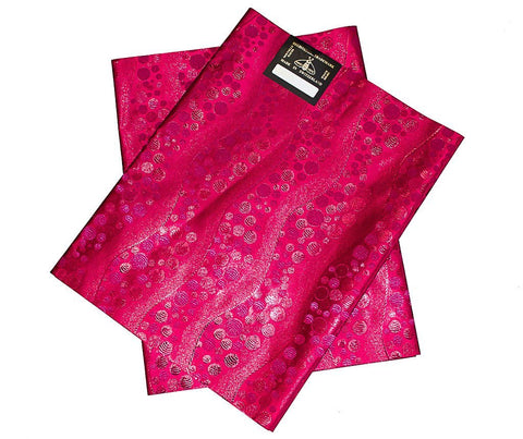 GL016 - Gele head wraps , dark fuchsia - Tess World Designs