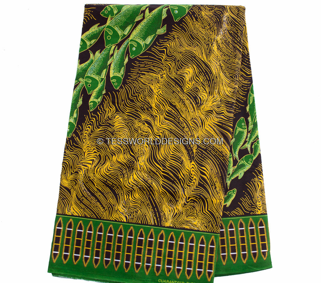 WP995 - African Fabrics,  6 yards