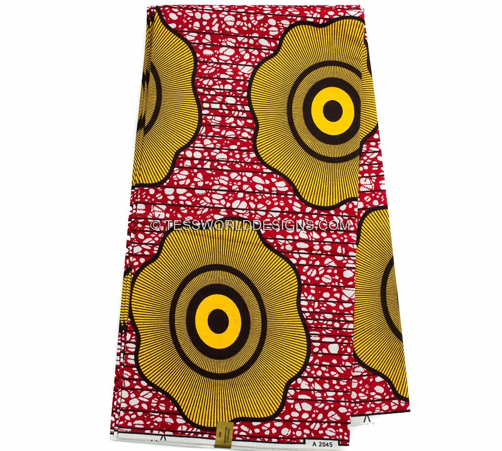 African Fabric , Judy, 6 yards -WP871 - Tess World Designs, LLC