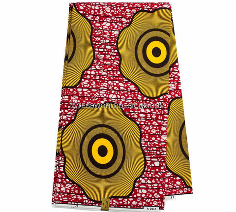 WP871 - African Fabric , Judy, 6 yards - Tess World Designs