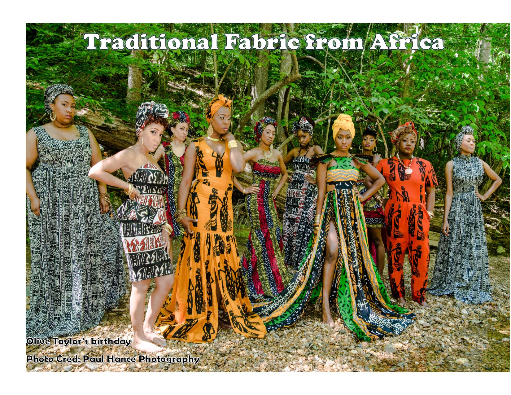 TRIBAL FABRIC FROM AFRICA