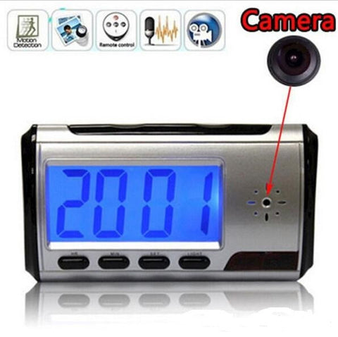 Hidden Camera Spy Clock Nanny Cam - Get That Gadget