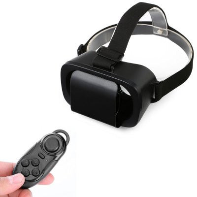 Virtual Reality - Light Weight 3D VR Glasses With Remote Control