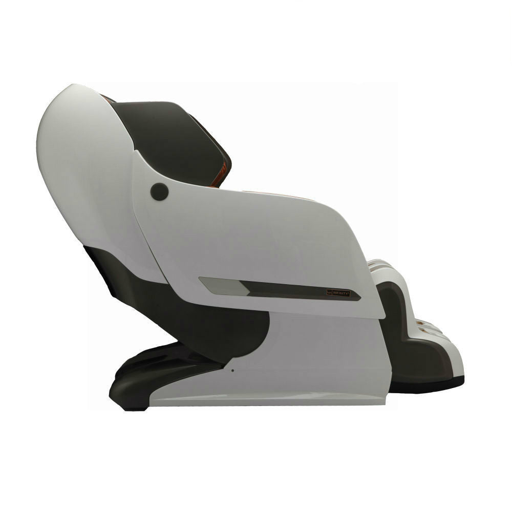 ... Infinity Iyashi Massage Chair Black White Side ...