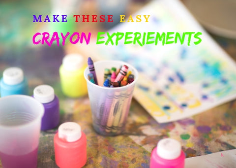 Crayon Experiments For Kids
