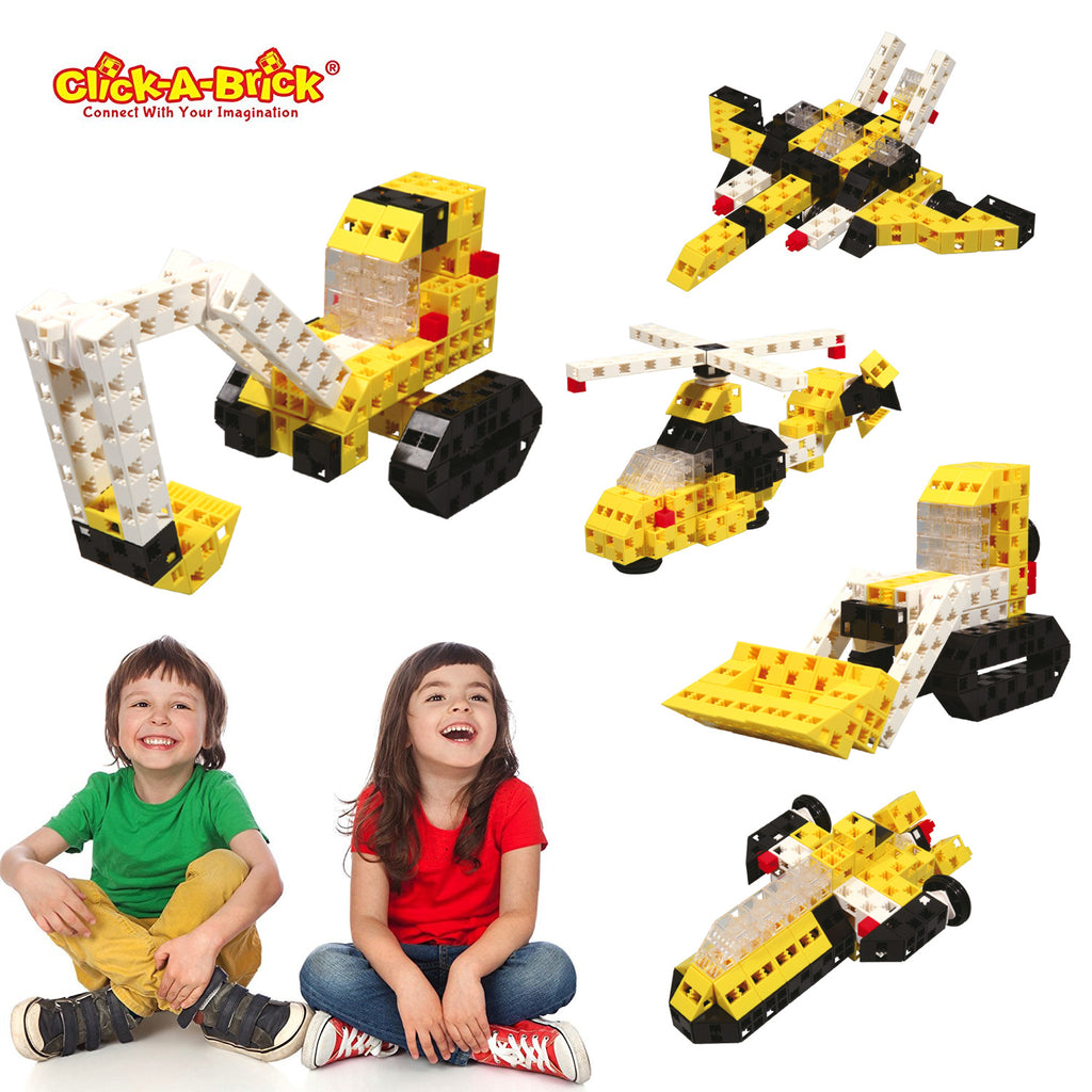 08 - Mighty Machines - 100 piece set