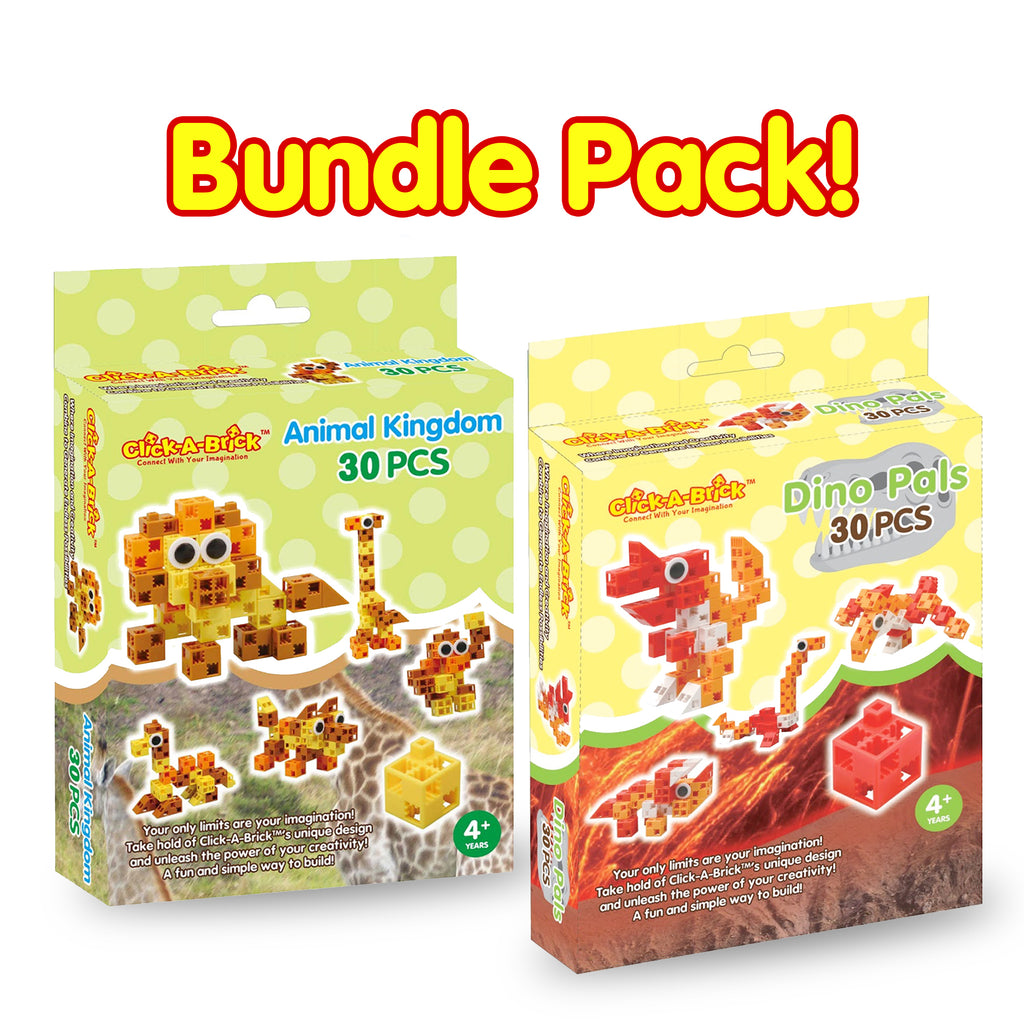 15 - Bundle Pack - Animal Kingdom & Dino Pals - 30 piece sets