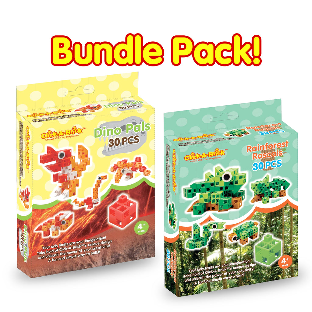 14 - Bundle Pack - Dino Pals & Rainforest Rascals - 30 piece sets