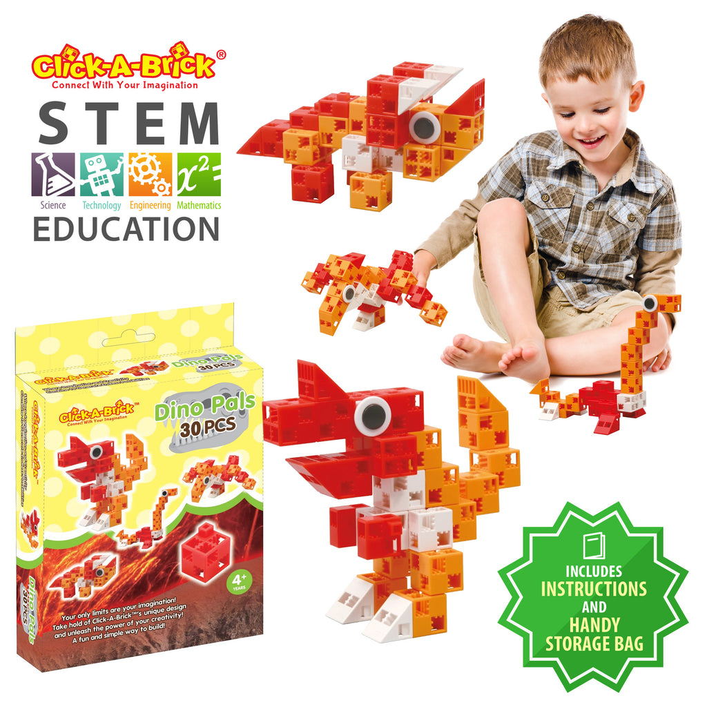 02 - Dino Pals - 30 piece set