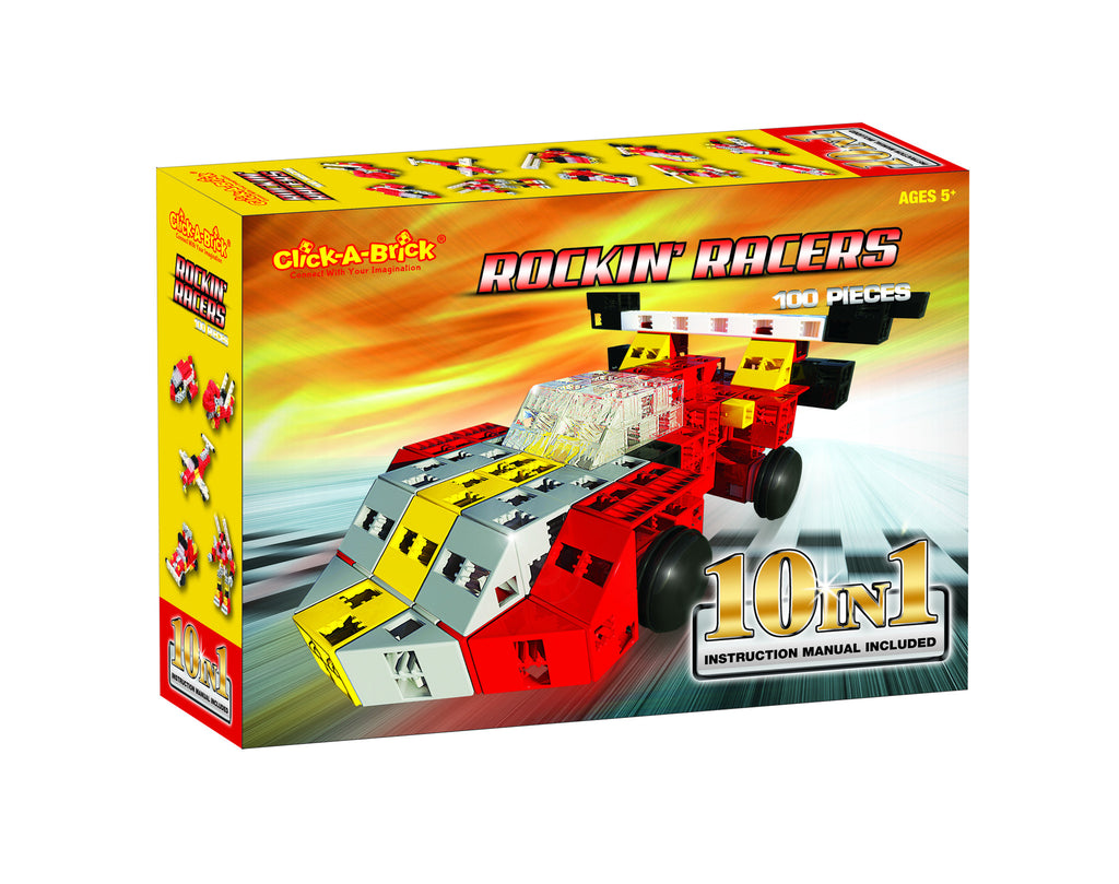 11 - Rockin' Racers - 100 piece set