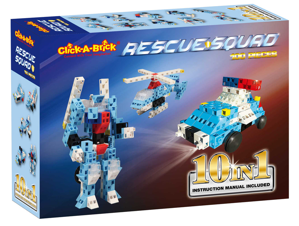 10 - Rescue Squad - 100 piece set