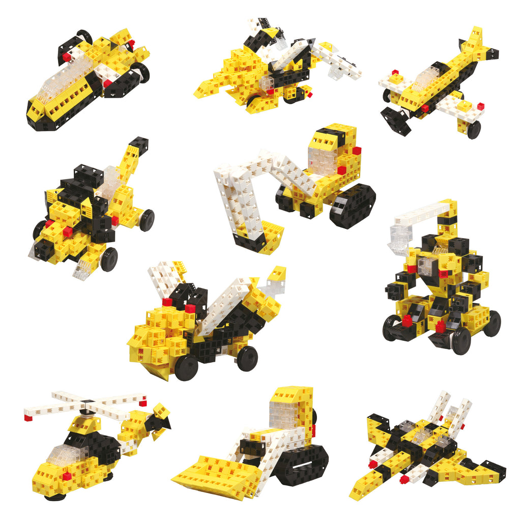 Toys - Mighty Machines - 10 In 1 Set