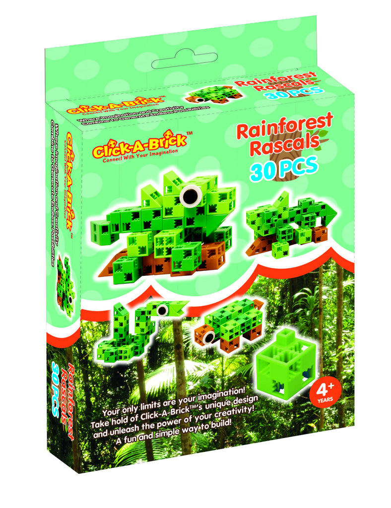 Toys - Rainforest Rascals - 5 In 1 Set