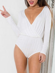 cross wrap bodysuit