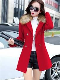 red coat styled