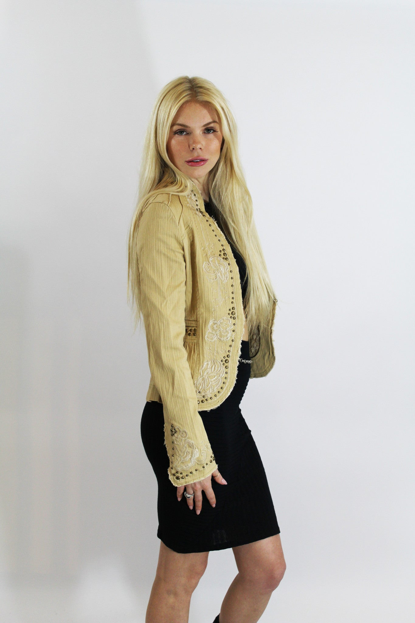 Camel Color Jacket-511