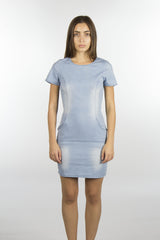 Denim Cotton Stretch Dress