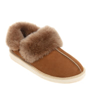 Gael Sheepskin Slippers - Chestnut