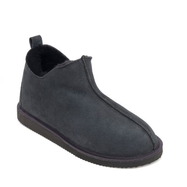 Alpin Sheepskin Slippers - Graphite