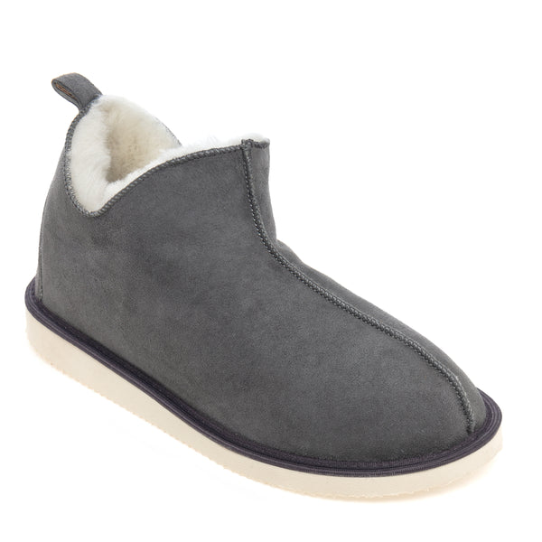 Alpin Sheepskin Slippers - Grey