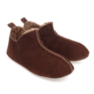 Berit Sheepskin Slippers/Yoga Shoe - Espresso