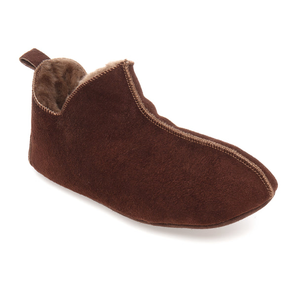 Berit Sheepskin Slippers - Espresso