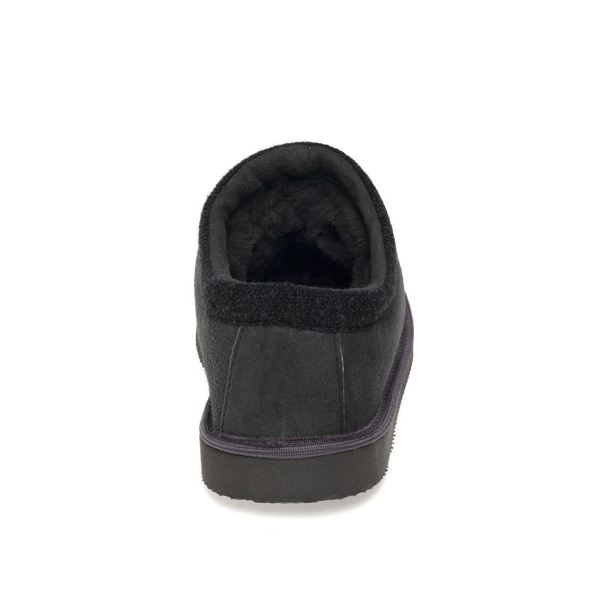 Mhor Sheepskin Slippers - Graphite