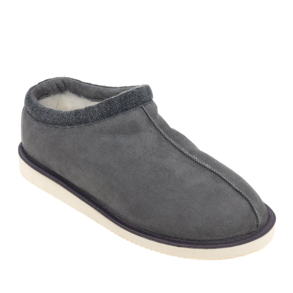 Mhor Sheepskin Slippers - Grey
