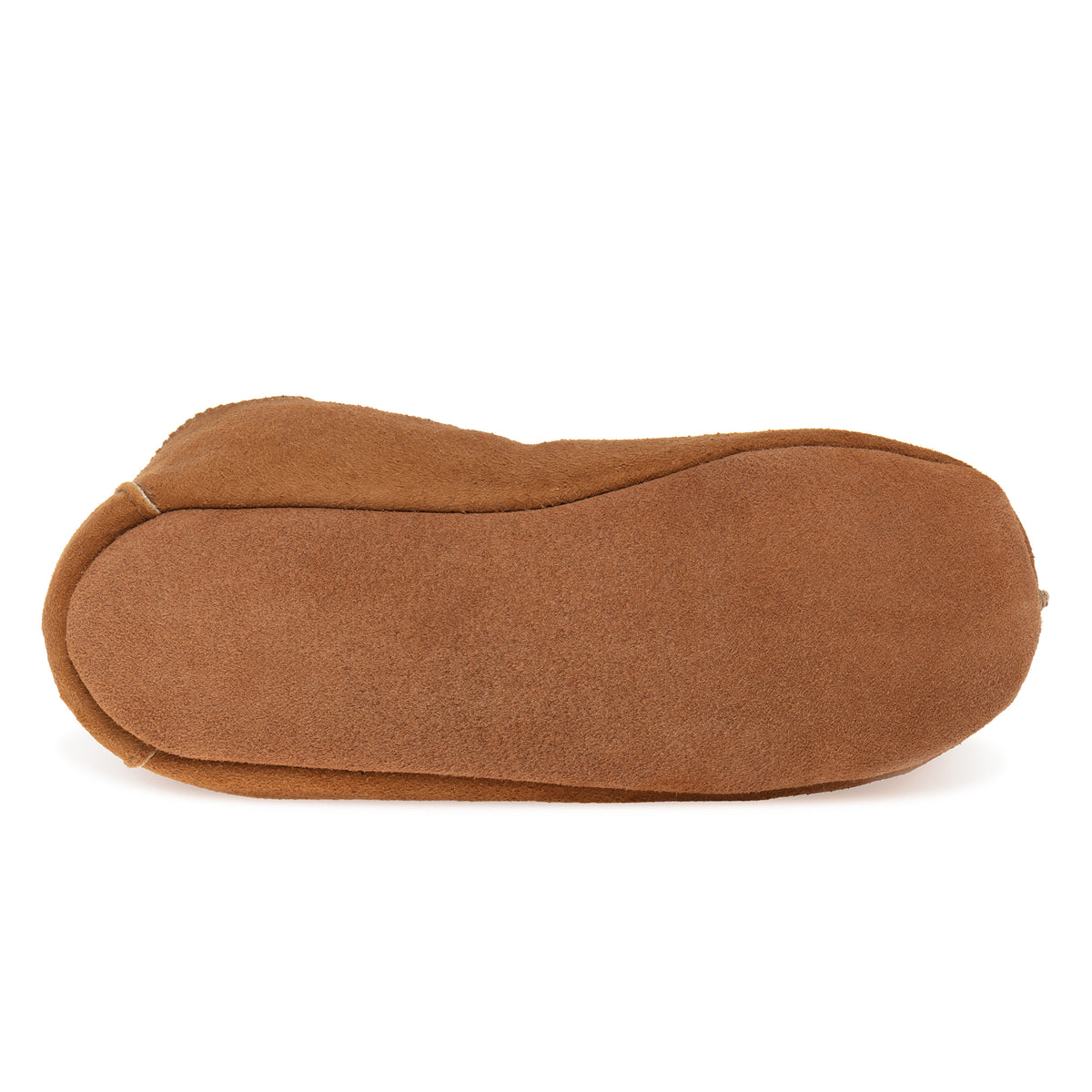 Kids Berit Sheepskin Slippers - Chestnut