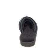 Baffie Mule Sheepskin Slippers - Graphite