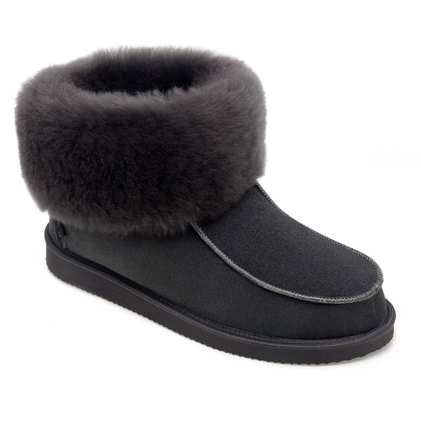 NEW Aesop Sheepskin Slippers - Graphite