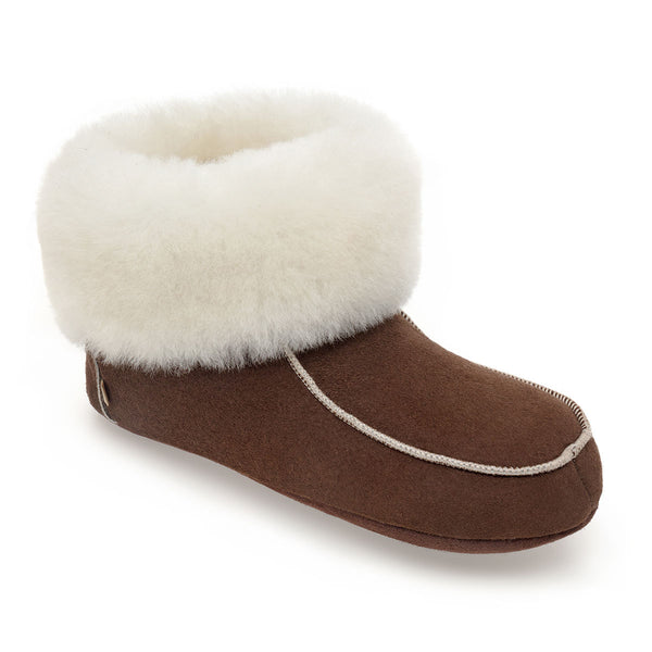 Aster Roll-Up Slipper Boots for Women