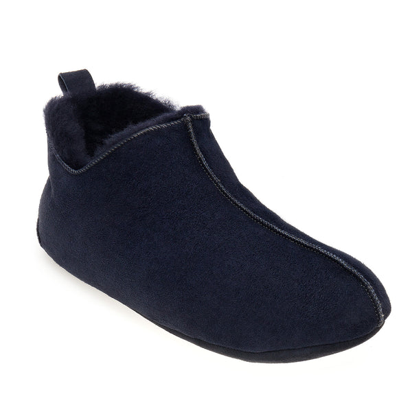 Berit Sheepskin Slippers - Midnight Navy