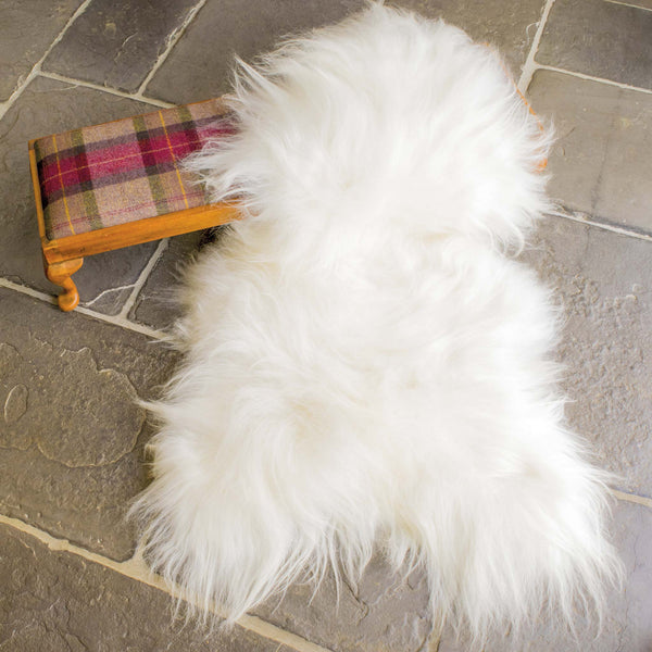 Icelandic Natural White Sheepskin