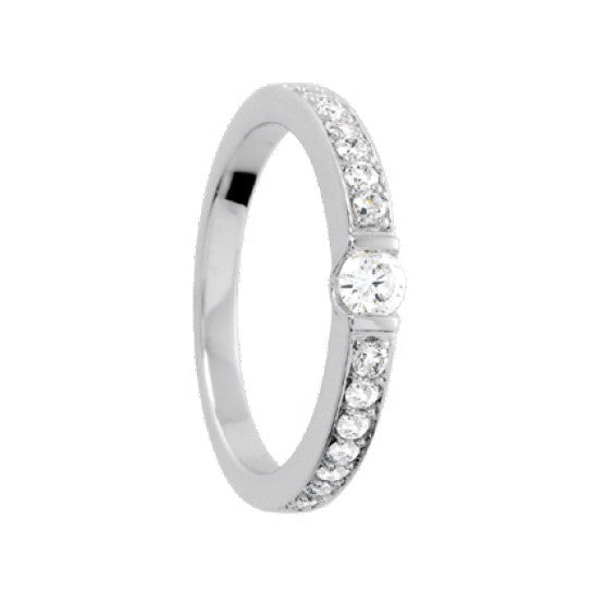 Bague Diamants 0.40ct GHSI