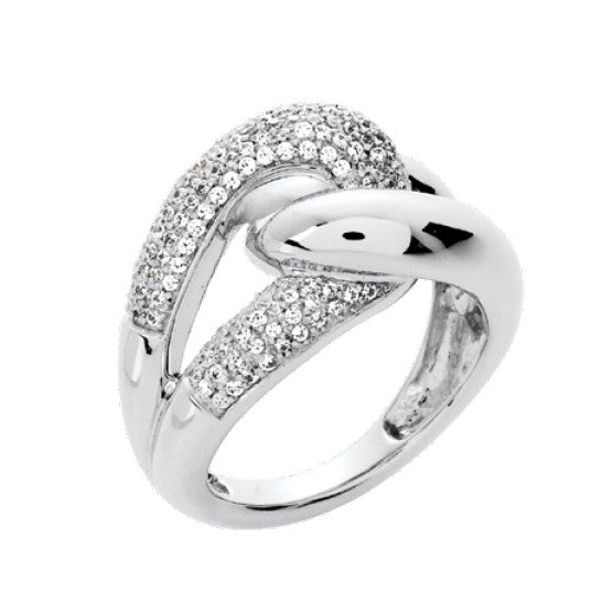 Bague diamants 0.65ct