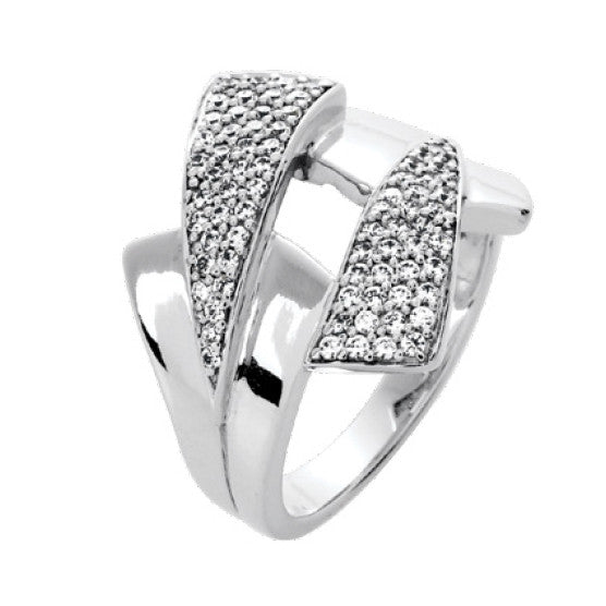 Bague diamants  0.50ct GH SI