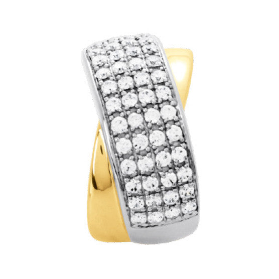 Bague diamants 1.00ct
