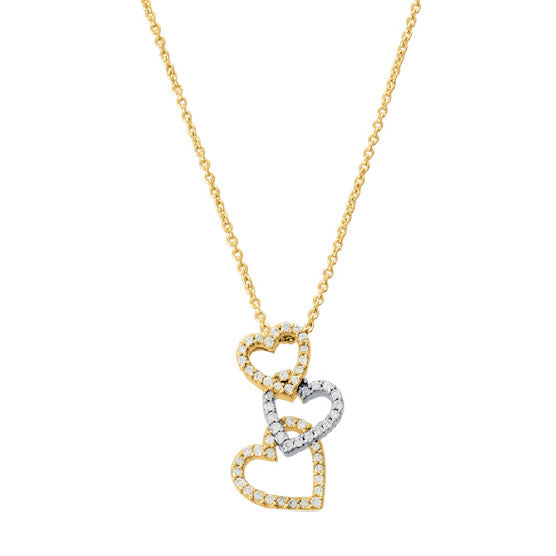 Collier Diamants 0.24ct