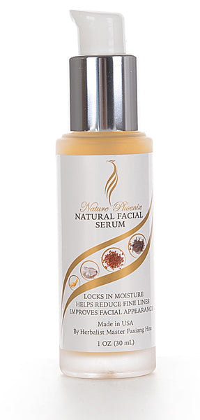 Natural Facial Serum 1 oz (30ml) Free Shipping
