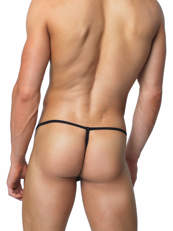 Men's Fishnet G-String Thong