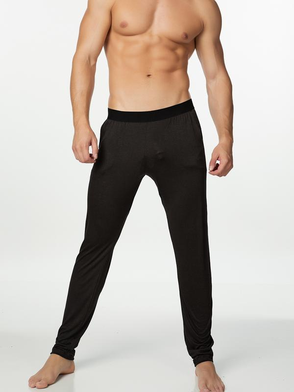 men's black jogging pants