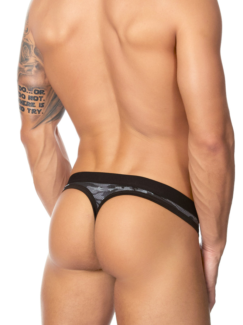 Men's Camouflage Thong Underwear